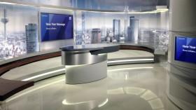 Deutsche Bank TV Studio neues Pult