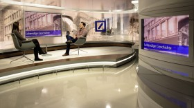 Deutsche Bank TV Studio Historie Prospekt
