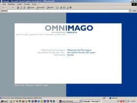 Omnimago 01 Webseite