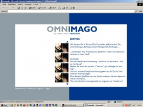 Omnimago 02 Website